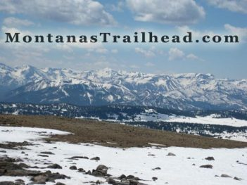 Image of the Montana mountain tops.