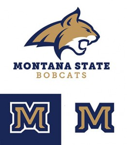 This is the New Logo for Montana State University Bobcats.
